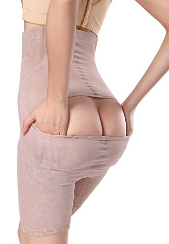 Feoya Cincher Damen Shapewear Schlank korsage Unterhemd Figurformend Taillenformer Korsett Unterwäsche Hautfarbe