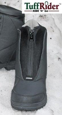 tuffrider Kinder Paddock Boots, Snow Rider Frontreißverschluss schwarz schwarz 3