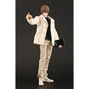 """Death Note: Light Yamagi 12"""" Real Action Heroes (RAH) 1/6 Scaled Action Figure (japan import) 11"""