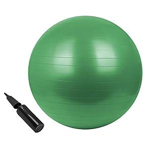 BB Sport Gymnastikball in vielen Farben und Größen Sitzball mit Ballpumpe 85...