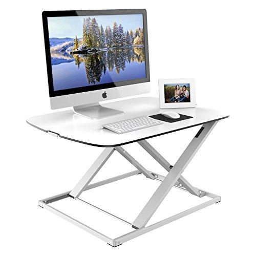 1home höhenverstellbar sit-Standing Desktop Workstation Schreibtisch Computer Riser Weiß