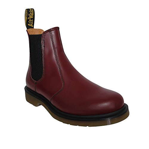 Dr. Martens Mens Non Safety Chelsea Dealer Boots 2976-59 Cherry (Boot Safety Martens)