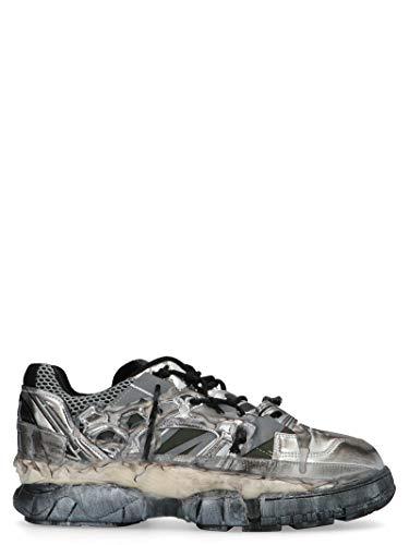Maison Margiela Luxury Fashion Uomo S57WS0257P2867H2745 Argento Sneakers | Autunno Inverno 19