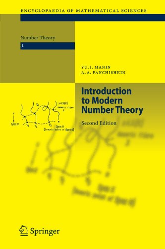 Introduction to Modern Number Theory: Fundamental Problems, Ideas and Theories (Encyclopaedia of Mathematical Sciences, Band 49)
