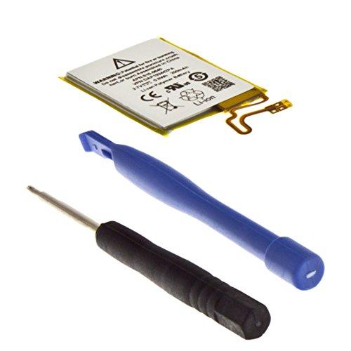 MTEC Akku 220mAh 0,80Wh 3,7V inkl. Werkzeug für Apple iPod Nano 7 7G 7th Gen 7. Generation ersetzt Originalakku Bezeichnung: 616-0639 616-0640