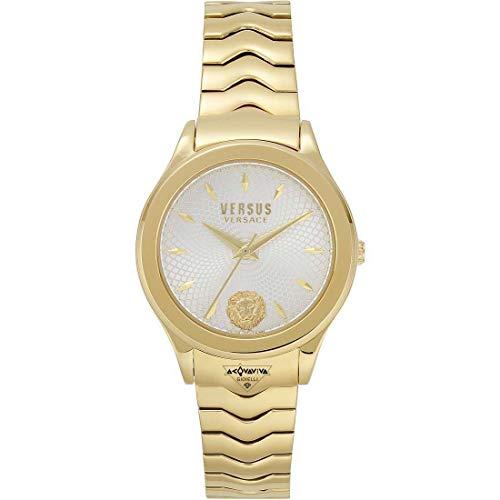 Versus Versace Reloj para Mujer de Cuarzo con Correa en Acero Inoxidable VSP560818