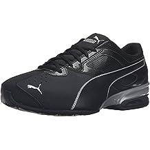 Puma Men's Tazon 6 FM Running Shoe, Black Silver, 46 2E EU/11 2E UK