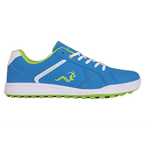 41IE6RTbfpL - BEST BUY #1 Woodworm Surge V2 Golf Shoe- Blue/White Size 12 Reviews and price compare uk