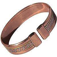"""Magnetischer 3 Farben Ehering Massiv Kupfer Armband - 2 Armbanduhr Größen - CCB -mb34 - Medium - 172mm (6 3/4""""... preisvergleich bei billige-tabletten.eu"""