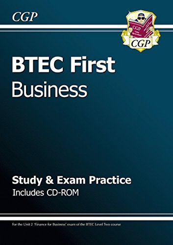 BTEC First in Business - Study & Exam Practice with CD-ROM (CGP BTEC First)