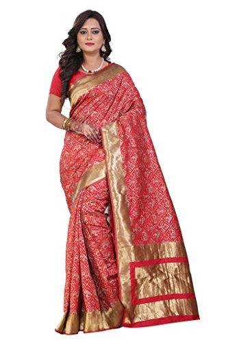 Blf Silk Saree (Patola_2_Red_1)