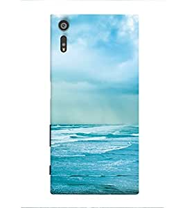 Sea 3D Hard Polycarbonate Designer Back Case Cover for Sony Xperia XR