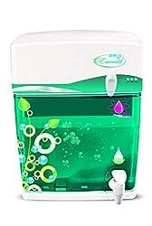 Zero B Emerald RO Water Purifier (White and Green)