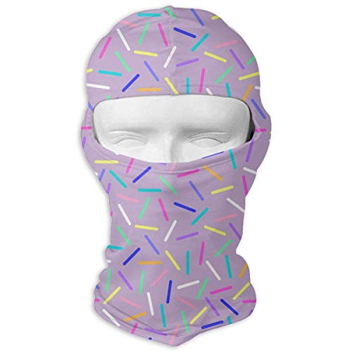 Vidmkeo Candy Bar Silver Light Men Women Balaclava Neck Hood Full Face Mask Hat Sunscreen Windproof Breathable Quick Drying Multicolor17