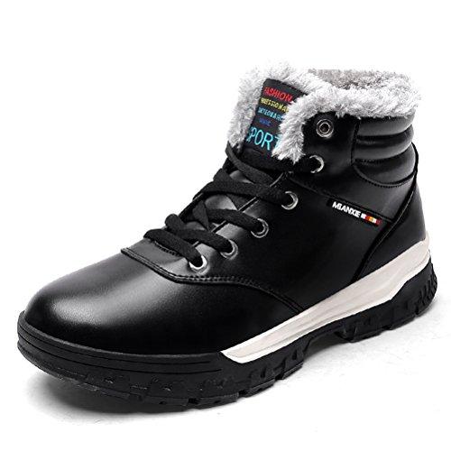AFFINEST Winterschuhe Stiefelette hoch oben Helfen Basketball-Schuhe Casual Warm Futter Männer und Frauen Sind Geeignet für (Schuhe Erwachsene Für Basteln)