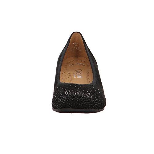 Gabor Shoes Comfort Sport, Ballerine Donna, 47 EU Nero (Schwarz)