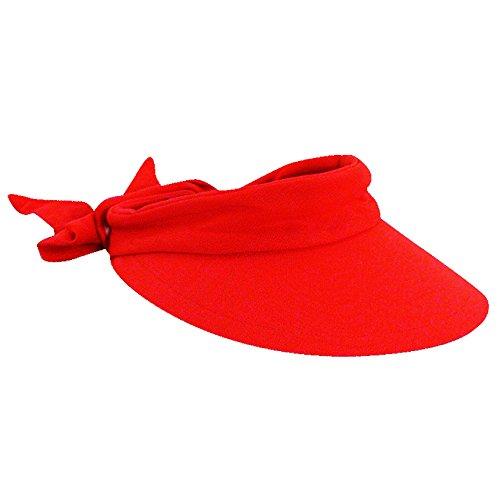 scala-womens-cotton-4-inch-brim-facesaver-visor-hat-red