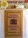 Childrens Identity Card from World War 2 - REPLICA DOCUMENT