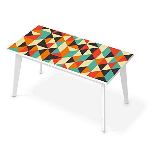 Tischposter XXL für Tisch 150x75 cm I Dekor Esstisch Sticker Aufkleber Folie Möbelfolie abwaschbar - Tisch dekorieren Esszimmer I Design Motiv Hallucinogen -