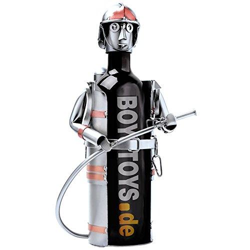 Feuerwehrmann Weinflaschenhalter
