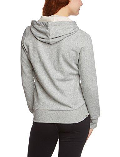 PUMA Damen Jacke Fun Athletics Hooded Sweat Jacket Athletic Gray Heather