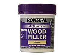 Ronseal Multi-Purpose Wood Filler - Natural, Purple, 250g