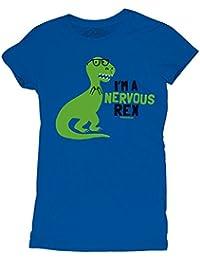 David and Goliath Nervous Rex Womens T-shirt