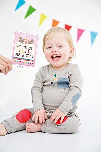 Milestone Baby Cards Erinnerungskarte - 9