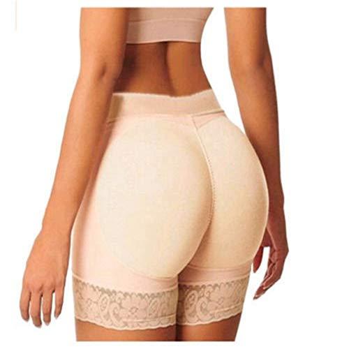 AMURAO Frauen Sexy Control Höschen Gefälschte Pads Butt Lifter Shorts Body Shapers