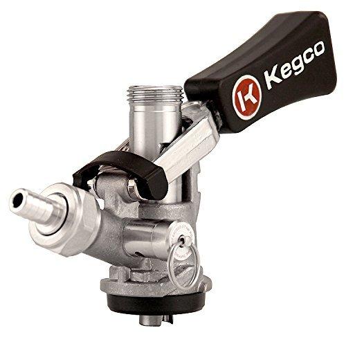 kegco-kc-kts98s-w-ergonomic-handle-with-stainless-body-probe-european-keg-beer-coupler-s-system-stai