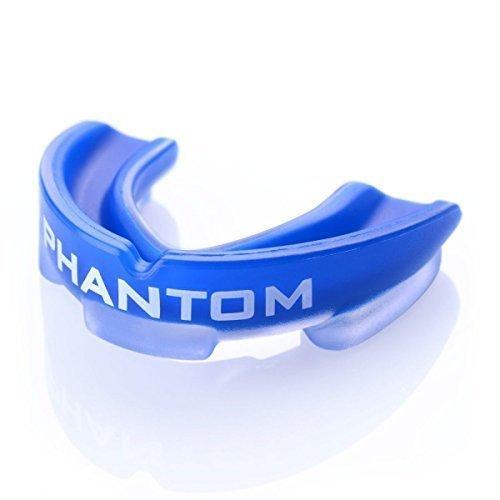 """Phantom Athletics Zahnschutz """"Impact"""" - Blue mit Box - Mund und Zahnschutz - Mouthguard,Zahnschützer"""