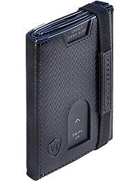 VON HEESEN Mini Wallet - 5-12 Karten - RFID-Schutz - Made in Europe - Mit & Ohne Münzfach - für Damen & Herren (in 9 Farben erhältlich)