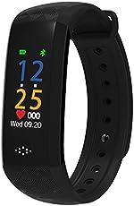 ENHNCE Color Screen M2P Smart Fitness Tracker Blood Pressure Pedometer Smart Band