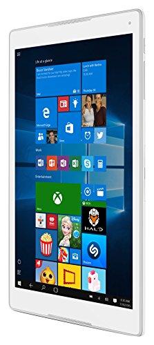 Alcatel PLUS 10 Tablet (25,7 cm (10,1 Zoll) HD IPS Display , Intel Atom Z8350, 32GB Speicher, 2GB Arbeitsspeicher, Win 10) Silber