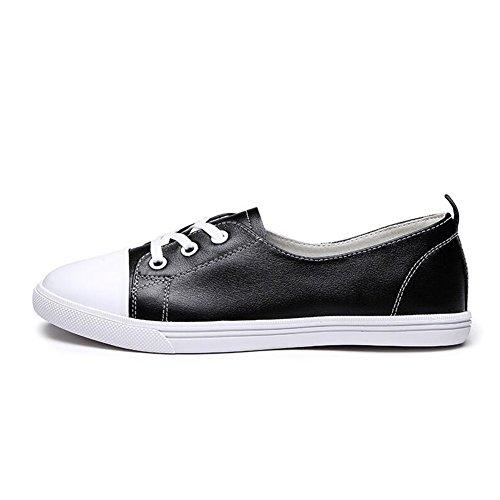 QIDI-sandalen QIDI Freizeitschuhe Frau Modisch Gummi Flacher Boden Einzelne Schuhe (Größe : EU37/UK4.5-5)