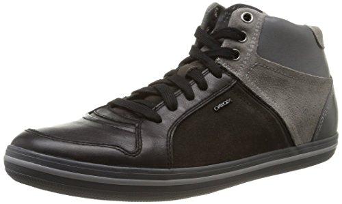 Geox U Box E, Herren Hohe Sneakers, Grau (c0017), 45 EU