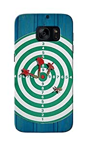 CimaCase Dartboard Designer 3D Printed Case Cover For Samsung Galaxy S7