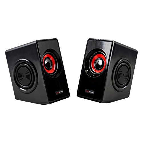 Mars Gaming MS1 - Altavoces Gaming para PC (10 W RMS, 6...
