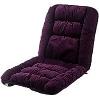 Preisvergleich für Kissen Stuhlkissen Sitzkissen Home Esszimmerstuhl Stück Kissen Atmungsaktiv Dickes Anti-Rutsch-Autositzkissen Lila