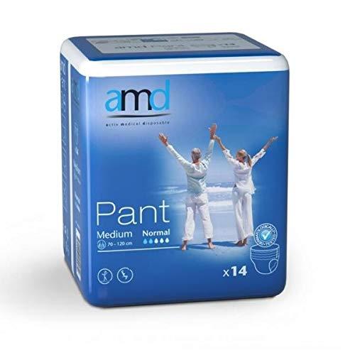 Preisvergleich Produktbild amd pants normal medium 6x14 Inkontinenz Einweg Slip Hose Blasenschwäche