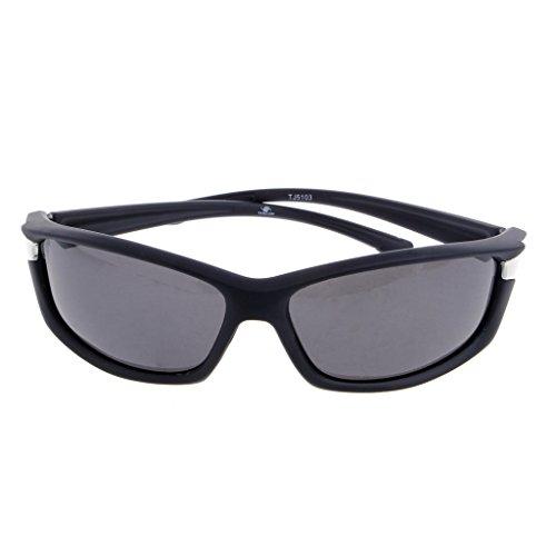 Jiamins Sportbrille, polarisiert, Sonnenbrille Männer, Sunglasses für Autofahren, Radfahren, Das Angeln und Andere Sport