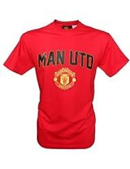Manchester United Jungen-T-Shirt, offizielle Kollektion, Kindergröße