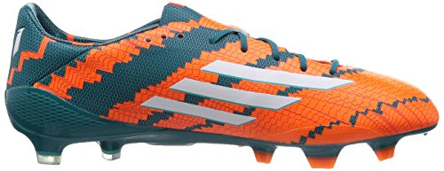 Adidas Performance Messi 10.1 Fg, Chaussures de Football Homme Orange (power Teal F14/ftwr White/solar Orange)