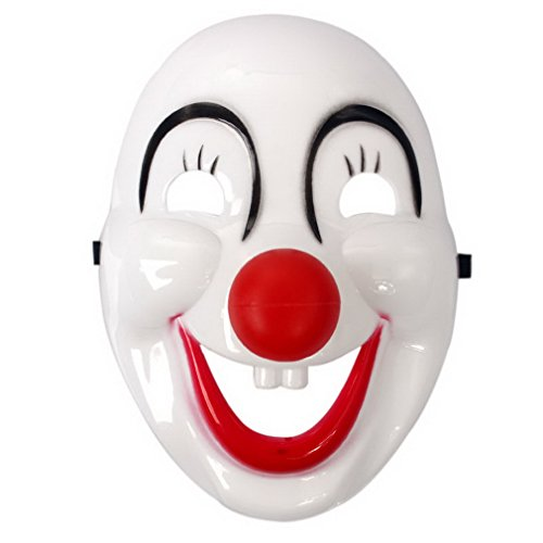 YAZILIND Mode Party Props cosplay Clown Gesicht Schild Halloween Party Kostüm Masquerade (Clowns Bilder Von Scary)