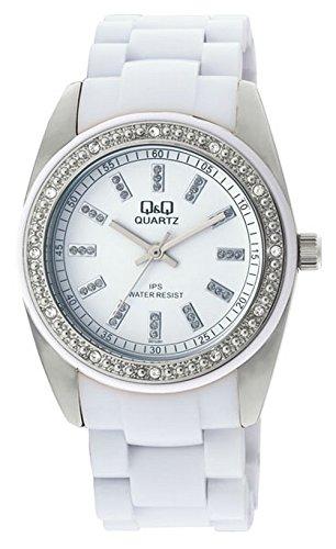 Q&Q Regular Analog White Dial Women's Watch - GQ13J201Y image