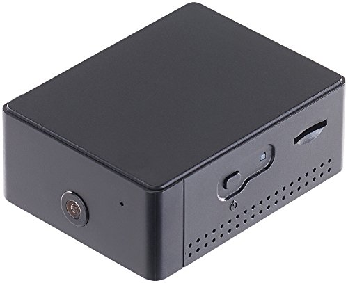 VisorTech Mini WLAN Kamera: HD-Videorekorder mit WLAN-IP-Überwachungskamera IPC-50.WL (WLAN Spycam)