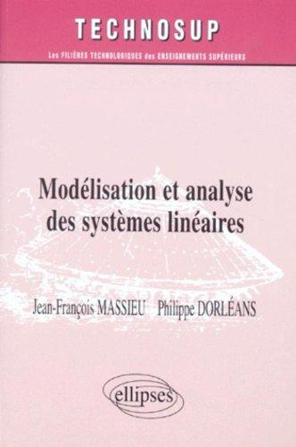 Modélisation et analyse des systèmes linéaires