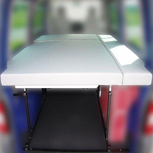 Preisvergleich Produktbild VW T5 Bike & Surf Maxi-Bett zum Nachrüsten 125 x 200 cm, höhenverstellbar