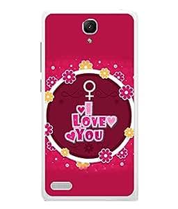 PrintVisa Designer Back Case Cover for Xiaomi Redmi Note Prime (Love Lovely Attitude Men Man Manly)