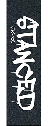 Stanced Logo Stunt-Scooter Griptape + Fantic26 Sticker (Schwarz)